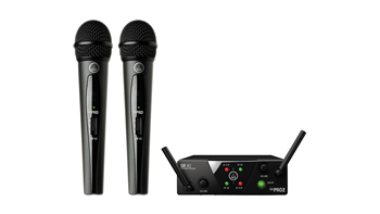 2 x Wireless Microphones
