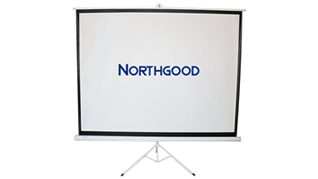 2m Wide Portable Projection Screen
