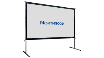 3m Wide Portable Projection Screen