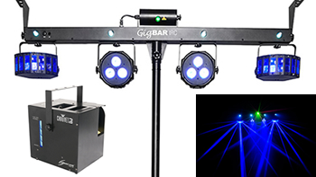 4 in 1 Party Light Rig, Haze Machine