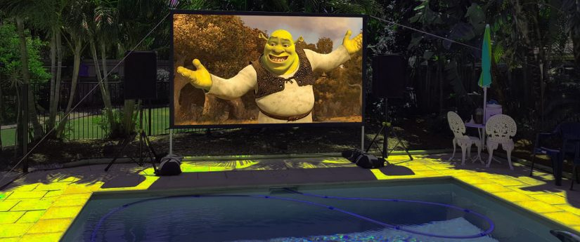 Big Screen Projector Hire