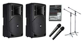 Dual Presentation Wireless PA System