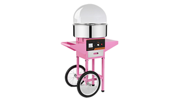 Fairy Floss Machine with Cart and Cover