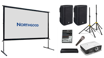 Indoor/Outdoor 2.5m Wide Cinema Screen