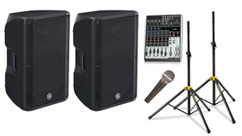Large Speakers for BYO Music