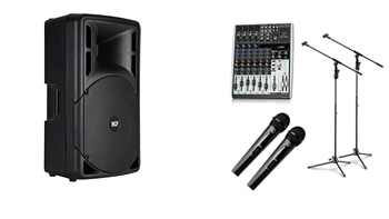 Single Presentation 2 x Wireless PA System