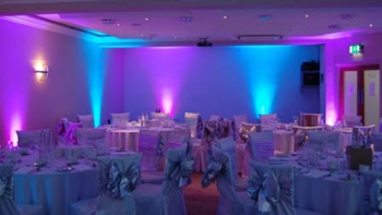Uplighting Hire