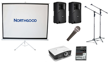Visual Presentation 2m Wired PA System